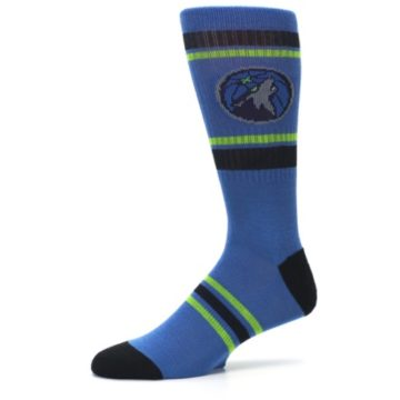 Image of Minnesota Timberwolves Men's Athletic Crew Socks (side-2-10)