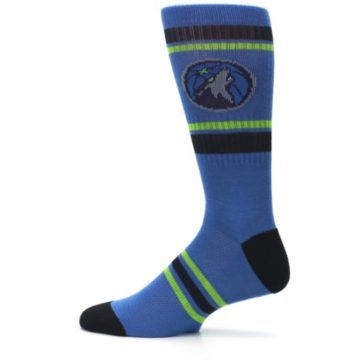 Image of Minnesota Timberwolves Men's Athletic Crew Socks (side-2-12)