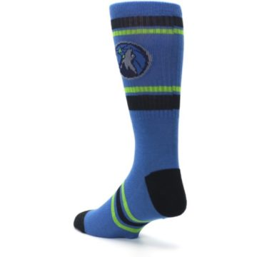 Image of Minnesota Timberwolves Men's Athletic Crew Socks (side-2-back-15)
