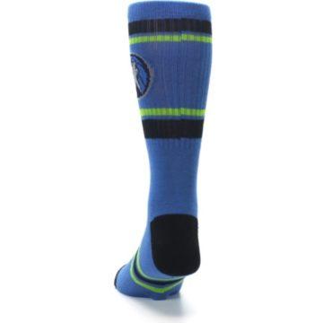 Image of Minnesota Timberwolves Men's Athletic Crew Socks (back-17)