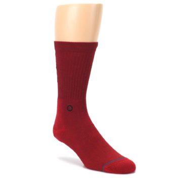 Red-Solid-Darth-Vader-Star-Wars-Mens-Casual-Socks-STANCE