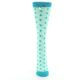 Image of Mint Jade Polka Dot Women's Dress Socks (front-05)