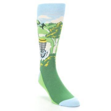 Image of Green Disc Golf Men's Dress Socks (side-1-front-02)