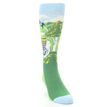 Image of Green Disc Golf Men's Dress Socks (side-1-front-03)
