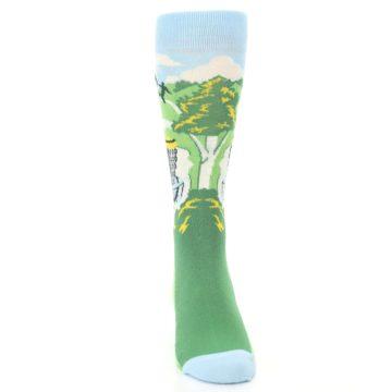 Image of Green Disc Golf Men's Dress Socks (front-04)