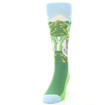Image of Green Disc Golf Men's Dress Socks (side-2-front-06)