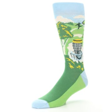 Image of Green Disc Golf Men's Dress Socks (side-2-09)