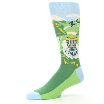 Image of Green Disc Golf Men's Dress Socks (side-2-10)