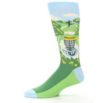 Image of Green Disc Golf Men's Dress Socks (side-2-11)