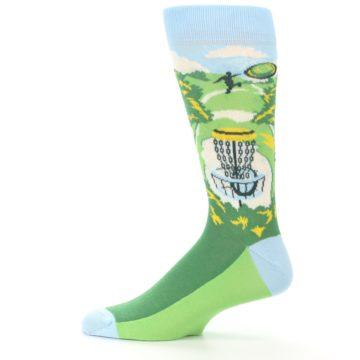 Image of Green Disc Golf Men's Dress Socks (side-2-12)