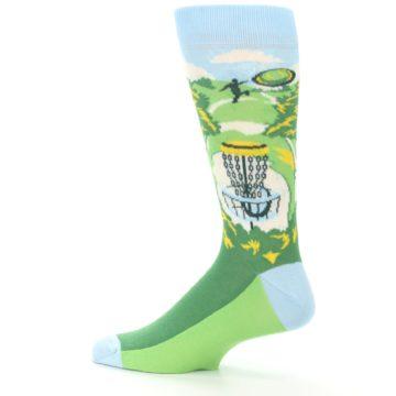 Image of Green Disc Golf Men's Dress Socks (side-2-13)