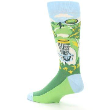 Image of Green Disc Golf Men's Dress Socks (side-2-back-14)