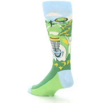 Image of Green Disc Golf Men's Dress Socks (side-2-back-15)