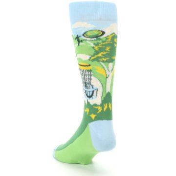 Image of Green Disc Golf Men's Dress Socks (side-2-back-16)