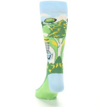 Image of Green Disc Golf Men's Dress Socks (back-17)