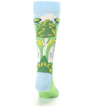 Image of Green Disc Golf Men's Dress Socks (back-19)
