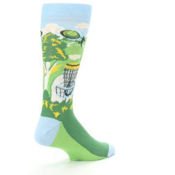 Image of Green Disc Golf Men's Dress Socks (side-1-back-22)