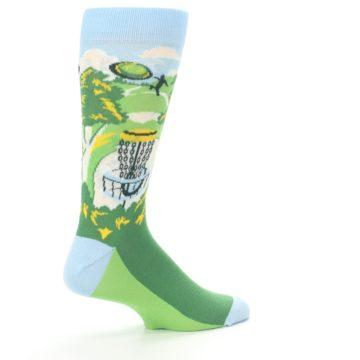 Image of Green Disc Golf Men's Dress Socks (side-1-23)