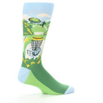 Image of Green Disc Golf Men's Dress Socks (side-1-24)