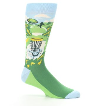 Image of Green Disc Golf Men's Dress Socks (side-1-25)