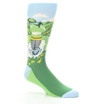 Image of Green Disc Golf Men's Dress Socks (side-1-26)