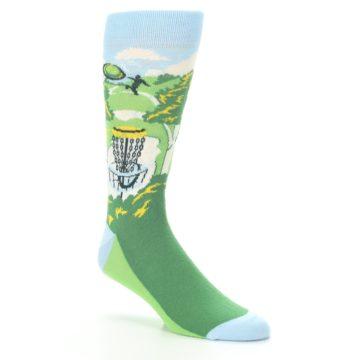Image of Green Disc Golf Men's Dress Socks (side-1-27)