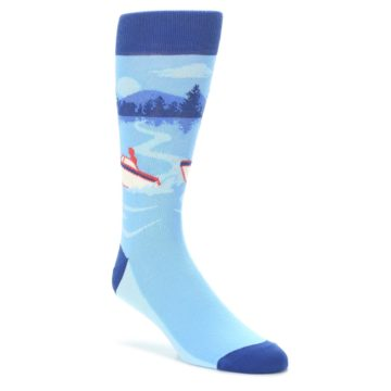 Blue-Speedboat-Mens-Dress-Socks-Statement-Sockwear