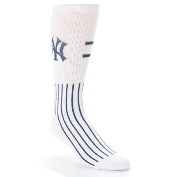 New-York-Yankees-Pinstripes-Mens-Athletic-Crew-Socks-PKWY
