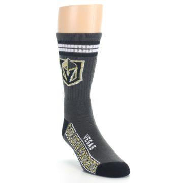 Image of Vegas Golden Knights Men's Athletic Crew Socks (side-1-front-02)
