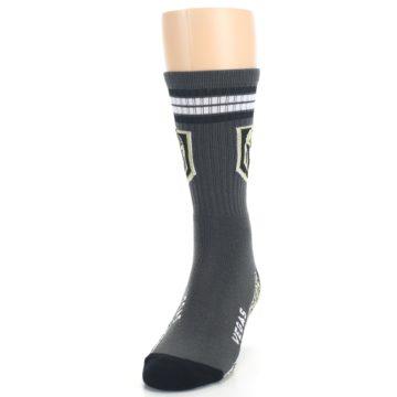 Image of Vegas Golden Knights Men's Athletic Crew Socks (side-2-front-06)