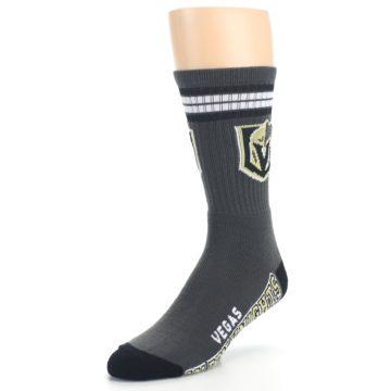 Image of Vegas Golden Knights Men's Athletic Crew Socks (side-2-front-08)