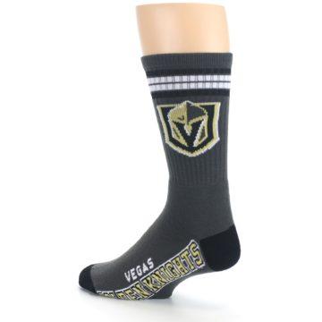 Image of Vegas Golden Knights Men's Athletic Crew Socks (side-2-back-14)