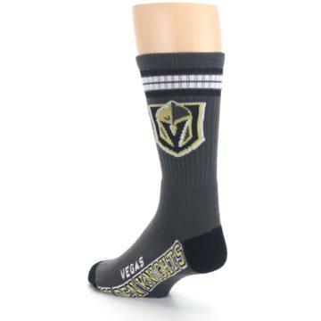 Image of Vegas Golden Knights Men's Athletic Crew Socks (side-2-back-15)