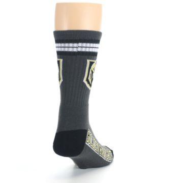 Image of Vegas Golden Knights Men's Athletic Crew Socks (side-1-back-20)