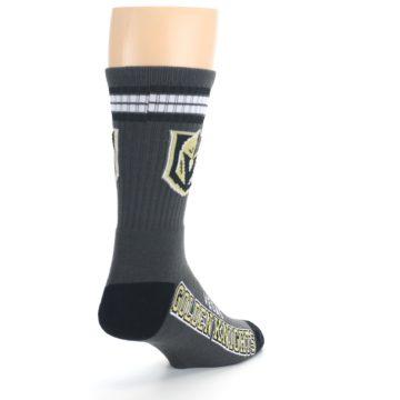 Image of Vegas Golden Knights Men's Athletic Crew Socks (side-1-back-21)