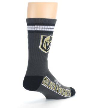 Image of Vegas Golden Knights Men's Athletic Crew Socks (side-1-back-22)