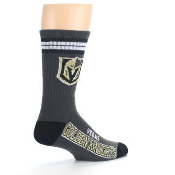 Image of Vegas Golden Knights Men's Athletic Crew Socks (side-1-23)