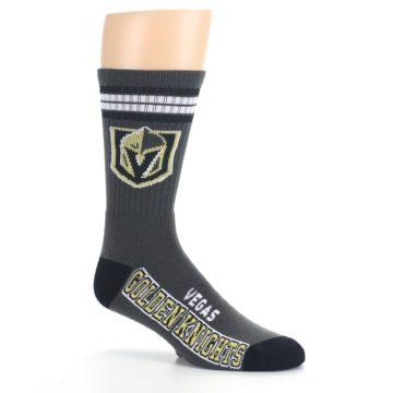 Image of Vegas Golden Knights Men's Athletic Crew Socks (side-1-26)