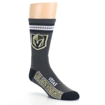 Image of Vegas Golden Knights Men's Athletic Crew Socks (side-1-27)