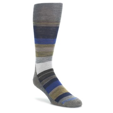 Brown-Gray-Navy-Saturnsphere-Wool-Mens-Casual-Socks-Smartwool