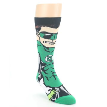 Image of Green Lantern 360 Men's Casual Socks (side-1-front-02)