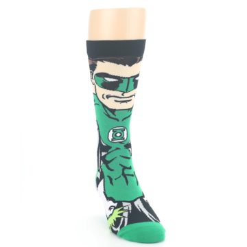 Image of Green Lantern 360 Men's Casual Socks (side-1-front-03)