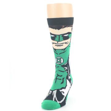 Image of Green Lantern 360 Men's Casual Socks (side-2-front-06)