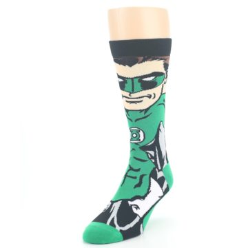 Image of Green Lantern 360 Men's Casual Socks (side-2-front-07)
