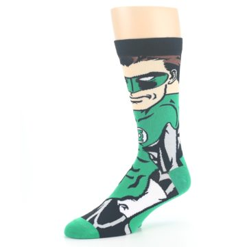 Image of Green Lantern 360 Men's Casual Socks (side-2-09)