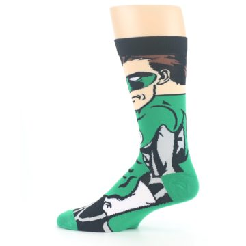 Image of Green Lantern 360 Men's Casual Socks (side-2-12)