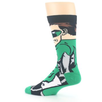 Image of Green Lantern 360 Men's Casual Socks (side-2-13)