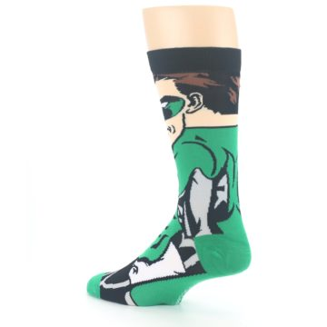 Image of Green Lantern 360 Men's Casual Socks (side-2-back-14)