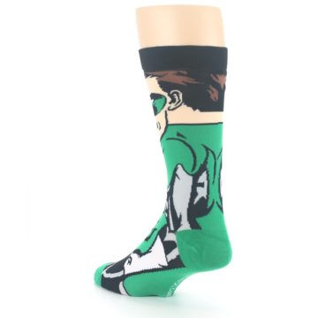 Image of Green Lantern 360 Men's Casual Socks (side-2-back-15)