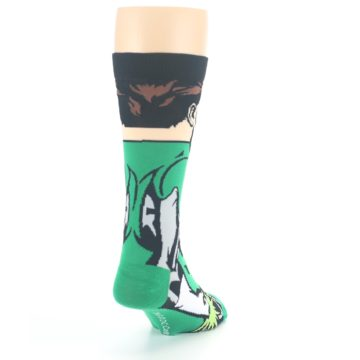 Image of Green Lantern 360 Men's Casual Socks (side-1-back-20)
